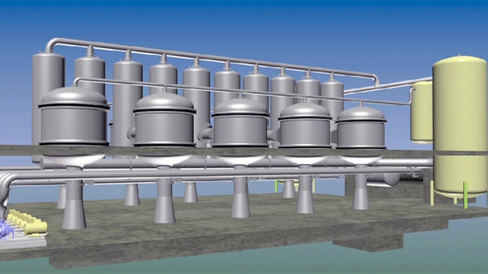 PWN Technologies Presented The Design Of The Largest Ceramic Membrane Plant Of The World At The SIWW 2010
