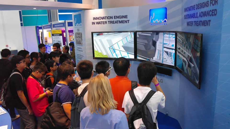 Singapore International Water Week 2012