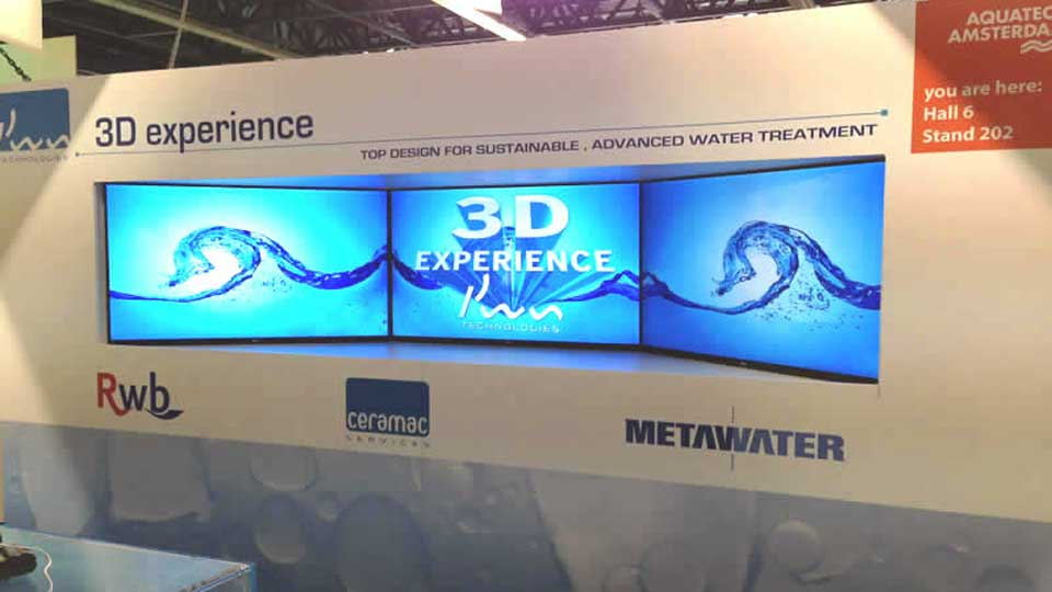 3D Experience PWN Technologies At Aquatech Amsterdam.