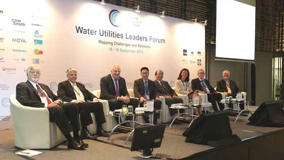 Global Water Leaders Met In Singapore.