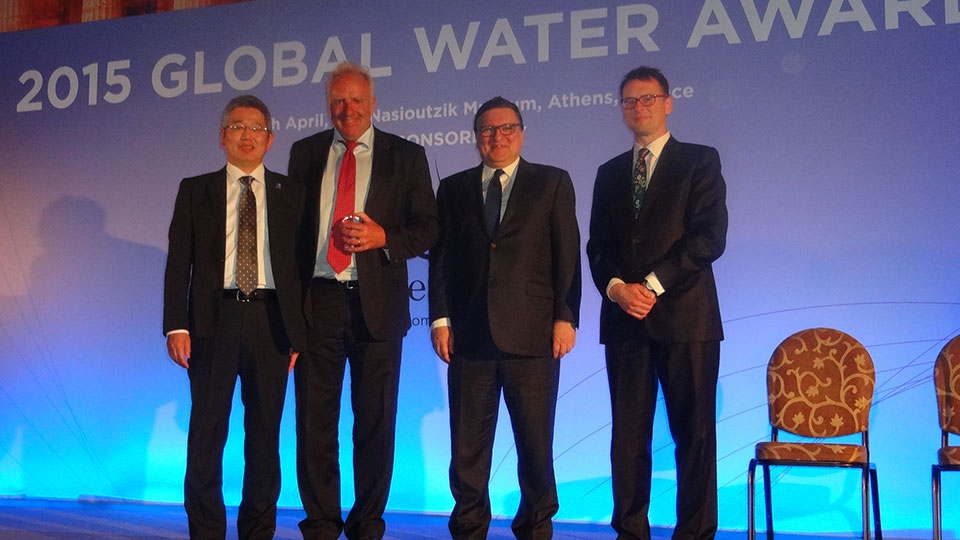 Distinction For Water Project Of The Year